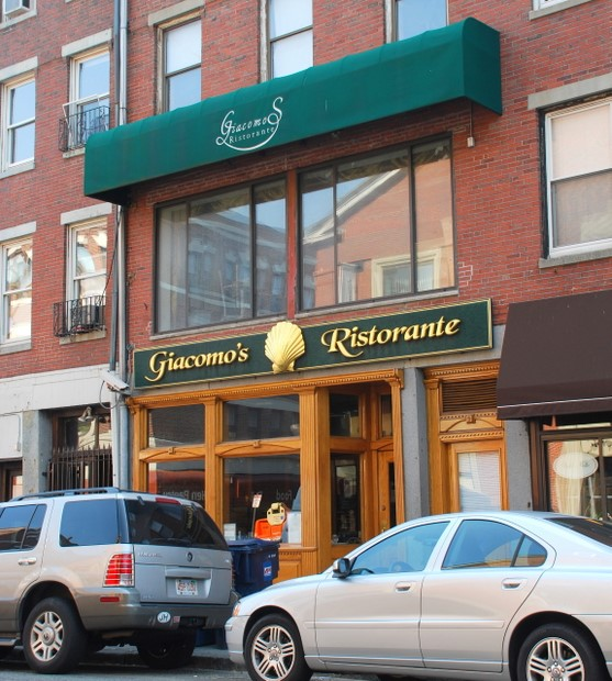 Giacomo's Restaurant in boston, Massachusetts