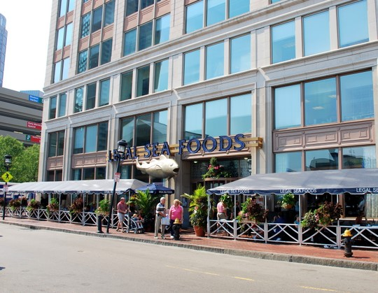 Legal Sea Foods in Boston, Massachusetts